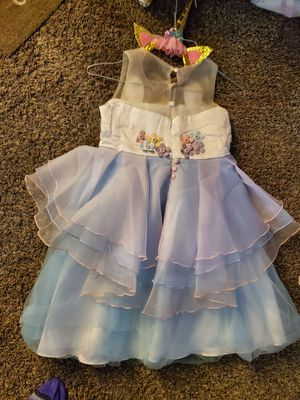 Unicorn dress and headband for Sale in Oklahoma City, OK