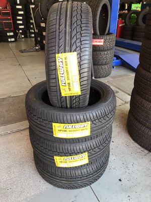 BRAND NEW SET OF TIRES 225/50/17 for Sale in Redlands, CA