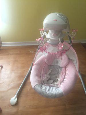 Baby girl swing for Sale in Greensboro, NC