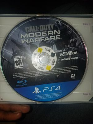 Call of duty modern warfare ps4 for Sale in Oxford, NC