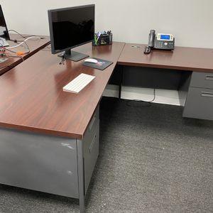 Two Large Desks for Sale in Pompano Beach, FL