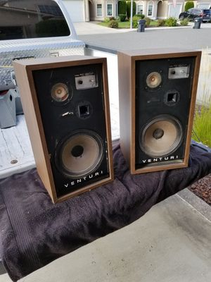BIC Venturi 4 Vintage speakers for Sale in Pasco, WA