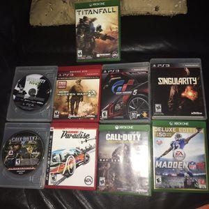Call of duty advanced warfare, Titanfall, Madden 16 for XBOX ONE. Call of duty Modern Warfare 2, Burnout Paradise, Grand Turismo 5, Singularity, Call for Sale in Miami, FL