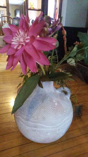 Solid pottery vase for Sale in Lynn, MA