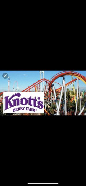 Knotts Berry Farm tickets for Sale in Anaheim, CA