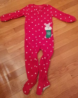 Carter's Kid's Christmas Pajamas, size 4t for Sale in Sterling, VA