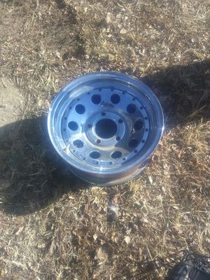 Chevy 5 lug rims set of 4 for Sale in Hutchinson, KS
