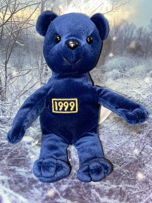 "RARE 1999 Gibson 11"" Millennium Plushie Teddy Bear for Sale in Bellflower, CA"