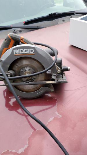 Rigid corded circular saw for Sale in Burbank, IL