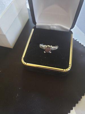 1.43 ct 100% real black mossianite diamond for Sale in Meriden, CT