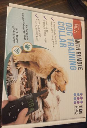 Advanced new with remote dog training collar for Sale in Hoxeyville, MI