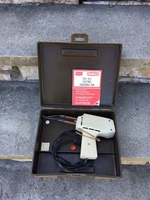 Craftsman soldering iron with case for Sale in Concord, MA