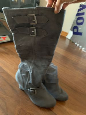 Grey Suede Boots Size 10 for Sale in FL, US