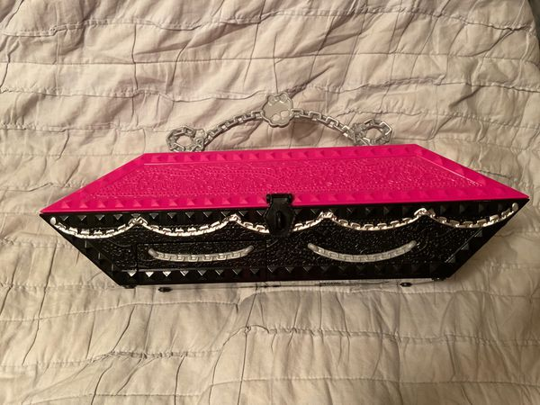 2011 Mattel Monster High Design Lab Coffin Carrying Case Only