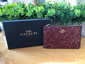 Coach glitter wristlet for Sale in Parker, CO
