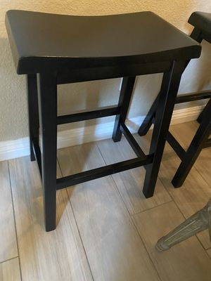 2 wood Counter stools for Sale in Chino Hills, CA