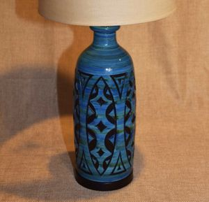 Vintage lamp with original shade for Sale in North Olmsted, OH
