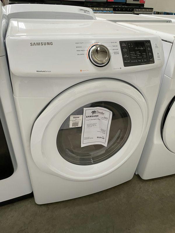 New Samsung Gas Dryer On Sale 1yr Factory Warranty