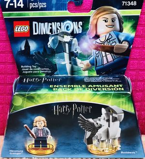 Hermione Granger in buck beak harry Potter Lego dimensions brand new unopened pack for Sale in Tustin, CA