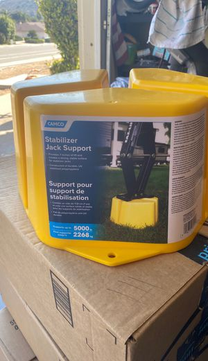 New - In Box - Stabilizer Jack Support for Sale in San Diego, CA