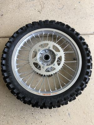 Suzuki RMZ 450 Complete rear wheel in great shape for Sale in Wildomar, CA