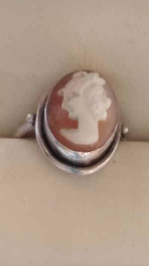 Vintage Cameo Ring in a Sterling setting for Sale in Oro Valley, AZ