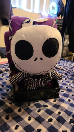 Nightmare before Christmas 25th anniversary plush plus microfiber blanket for Sale in Phoenix, AZ