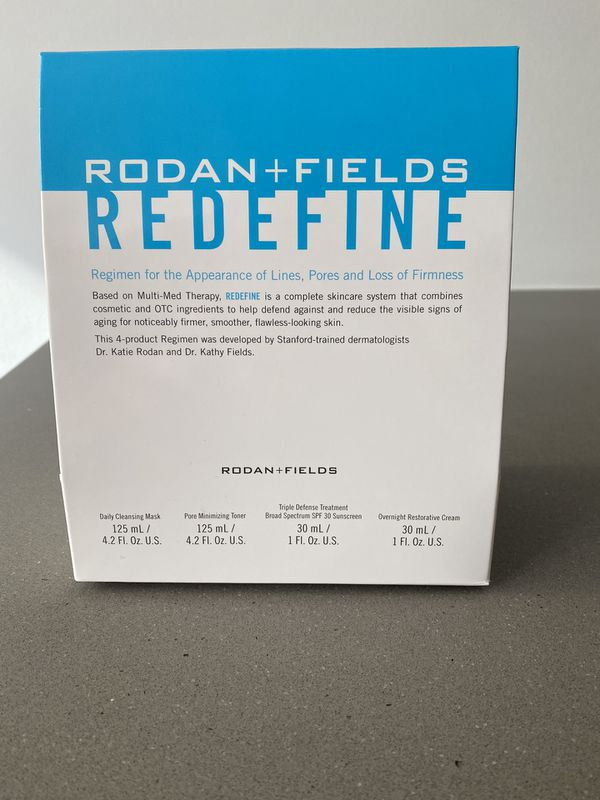Rodan + Fields Redefine skincare system - brand new!