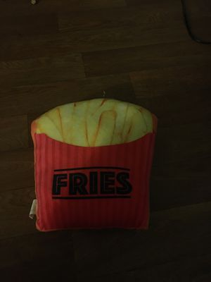 Fries pillow for Sale in San Jose, CA