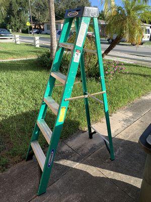 Werner 6 feet ladder for Sale in Miami, FL