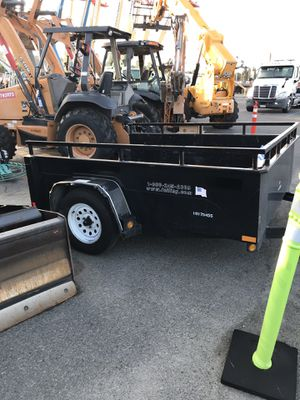 Utility trailer with ramp. for Sale in Los Angeles, CA