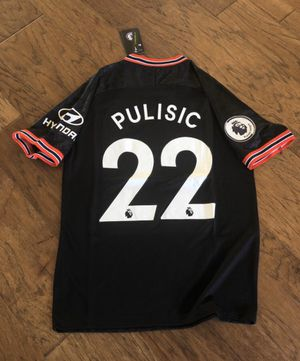 Chelsea third kit Pulisic soccer jersey 19/20 for Sale in Plano, TX
