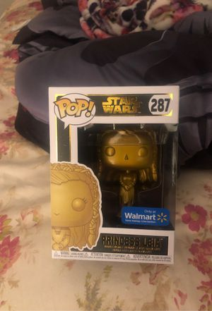 Leia ( gold chrome Walmart exclusive ) for Sale in West Palm Beach, FL