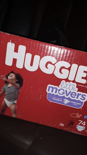 Huggies size 6 diapers 74 ct 20$ obo for Sale in Las Vegas, NV