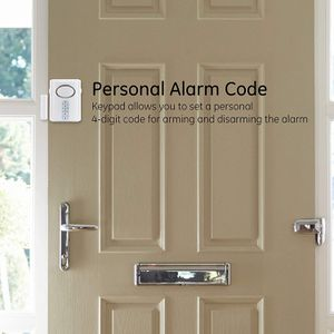 GE Deluxe Wireless Door, 120 Decibel, Alarm or Entry Chime, Indoor Personal Security, with Keypad Activation, 45117, Kit, White. Brand New !! Best for Sale in Long Beach, CA