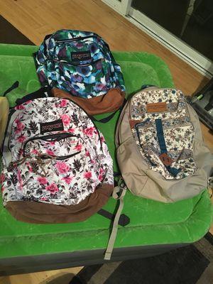 Jansport backpacks $25 each for Sale in Hayward, CA