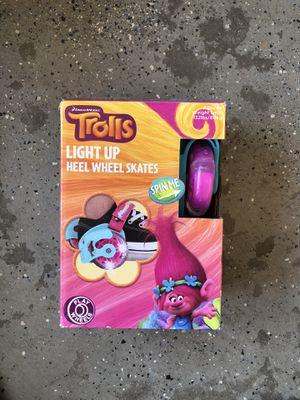 New Trolls Light Up Heel Wheel Skates for Sale in Victorville, CA