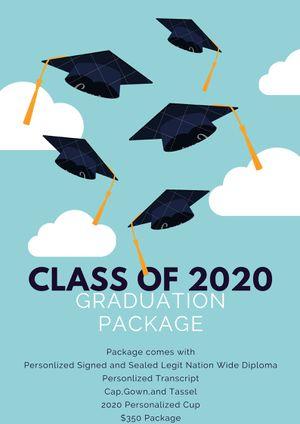 Graduation Package 2020 for Sale in Baton Rouge, LA
