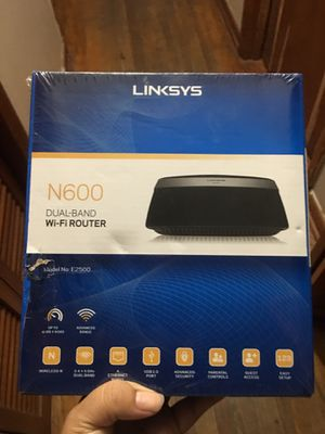 Linksys N600 wifi router for Sale in Orlando, FL
