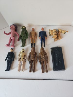 Vintage star wars action figures toy lot for Sale in Peoria, AZ