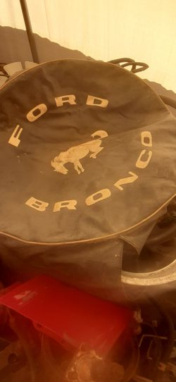 Vintage Bronco Wheel Cover for Sale in Weston,  WV