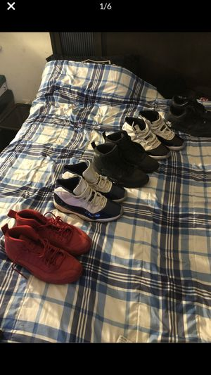 Jordan 11s , 12s and black force's all size 13 for Sale in Pittsburg, CA
