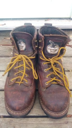 Georgia Boot Men's Size 9 Steel Toe Work Boots GBOT042 for Sale in Port Angeles, WA