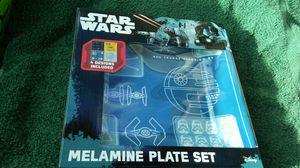 Star Wars Melamine Plate Set for Sale in West Palm Beach, FL