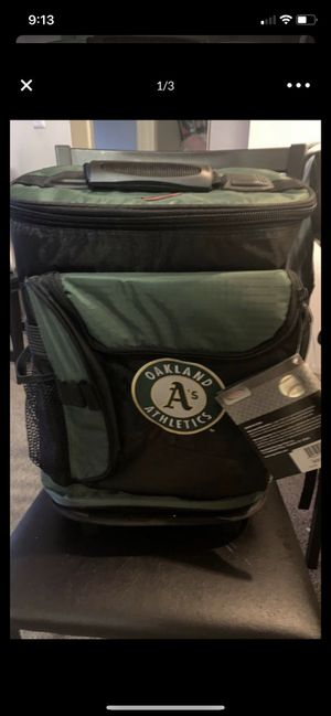 Oakland athletics rolling cooler brand new for Sale in San Leandro, CA