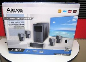 Alexa acoustics 5.1 Bluetooth home theater system for Sale in Weston, FL