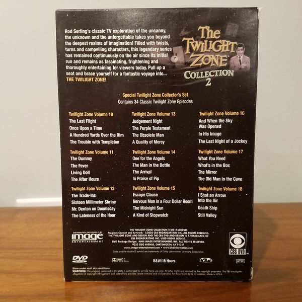 Twilight Zone DVD Collection