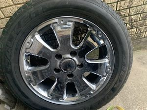TUNDRA WHEELS AND TIRES for Sale in Grand Prairie, TX