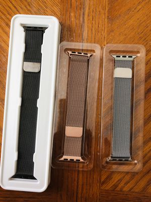 3 band for Apple Watch 38mm 40mm for Sale in Los Angeles, CA