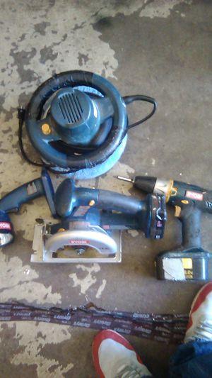 Ryobi power tool set for Sale in Whittier, CA